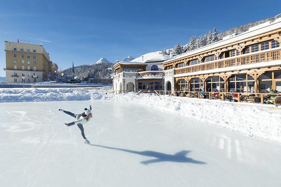 KULM HOTEL ST. MORITZ Skating Rink