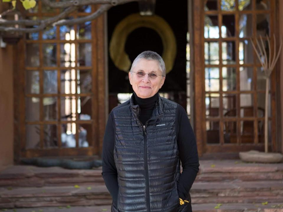 Roshi Joan Halifax at the Upaya Zen Center and Institute