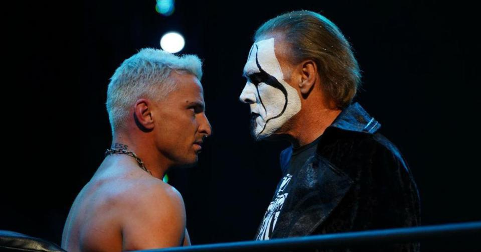 Darby Allin came face-to-face with Sting on AEW Dynamite: Winter is Coming