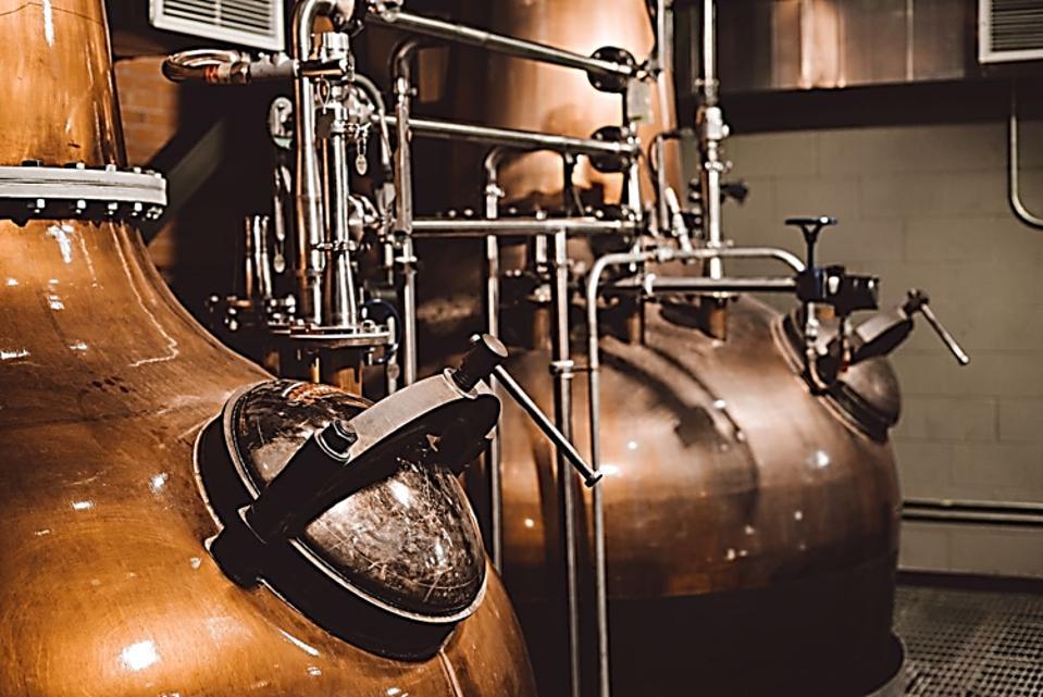 Balcones Distilling's Stills