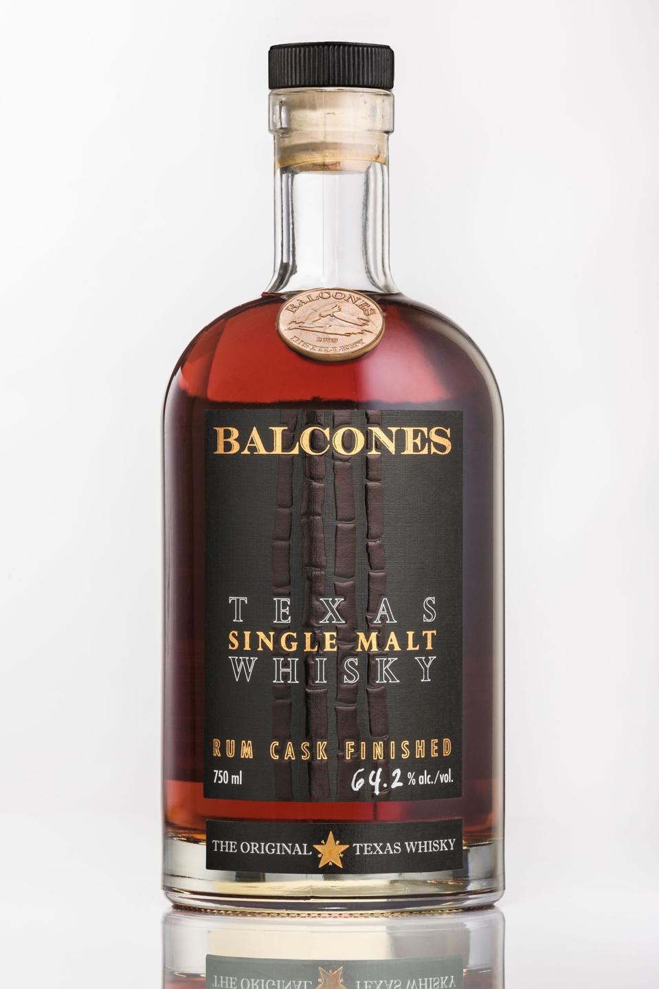 Balcones, Texas Single Malt Whisky, Rum Cask Finish