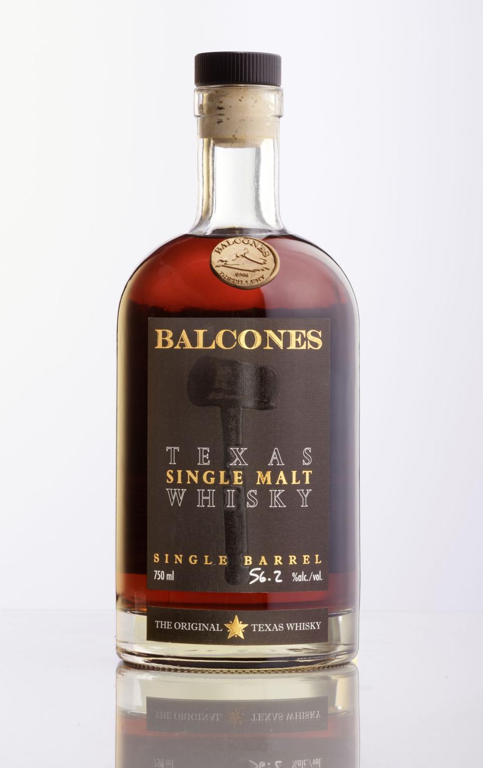 Balcones, Texas Single Malt Whisky, Single Barrel