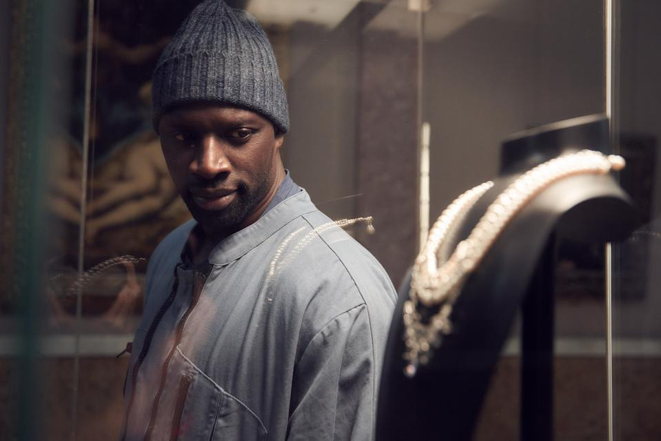 Omar Sy stars as a man who will stop at nothing to avenge his father's death in the new Netflix series 'Lupin'.