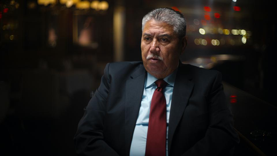 Homicide detectives Gil Carrillo (pictured here) and Frank Salerno were integral in solving the case of the Night Stalker, a serial killer who terrorized Los Angeles in the 80s.