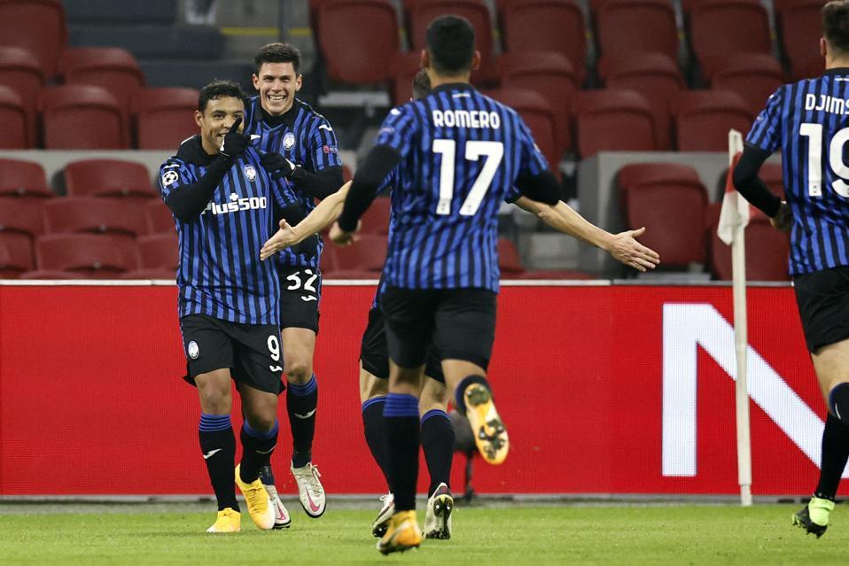 UEFA Champions League Group D″Ajax Amsterdam v Atalanta Bergamo″
