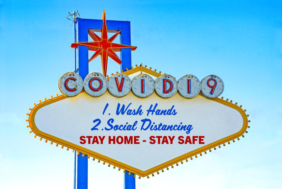 COVID-19 Stay Safe Stay Home Sign