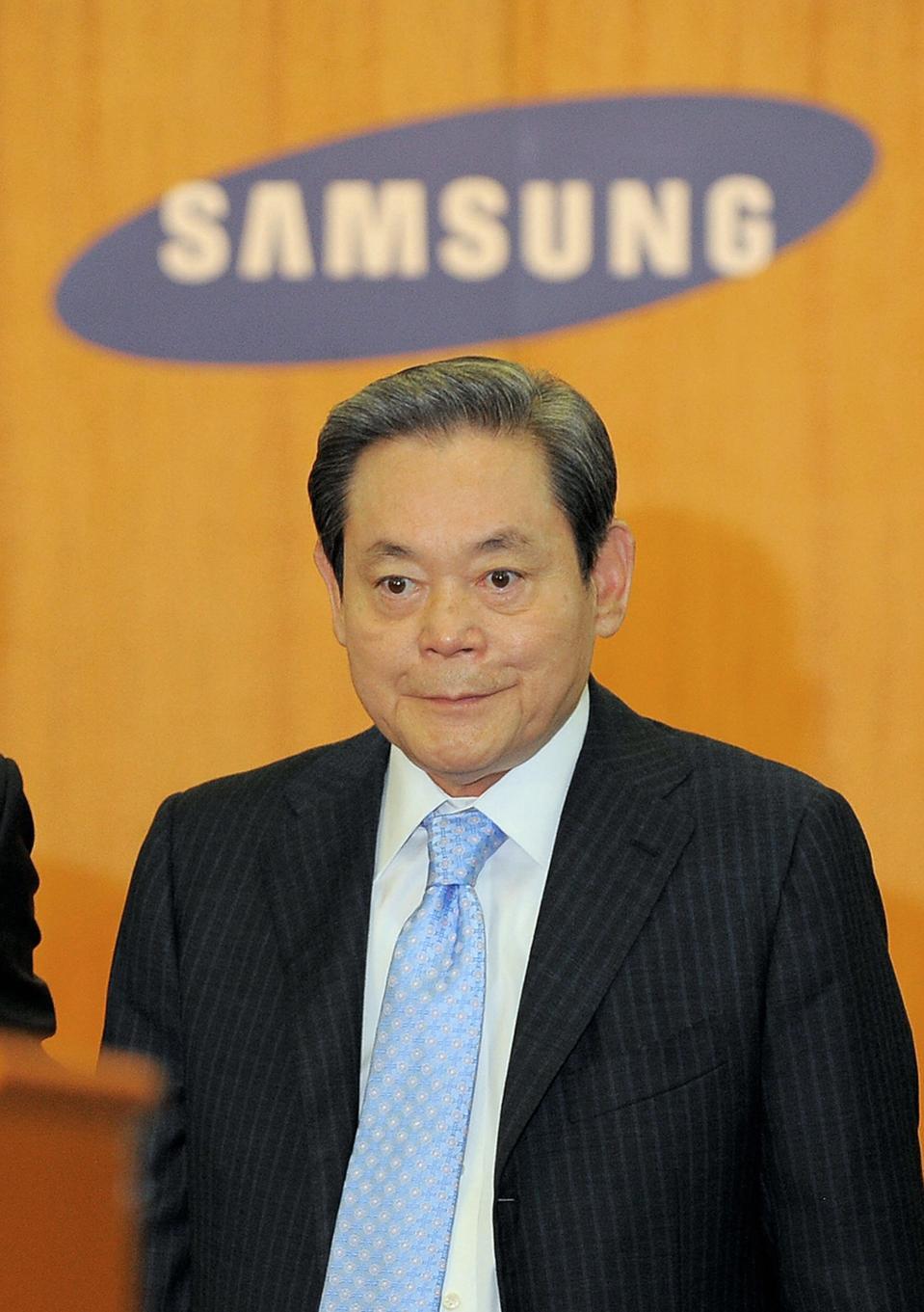 Lee Kun-Hee, chairman of South Korea's l