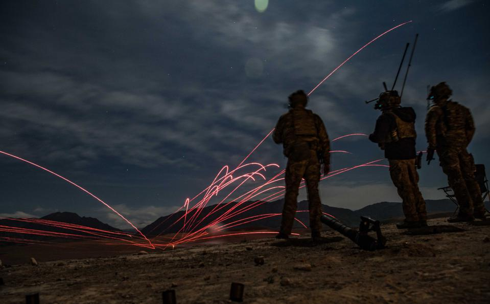 Spare a thought for U.S. Air Force Combat Controllers, skilled coordinators of air assets.