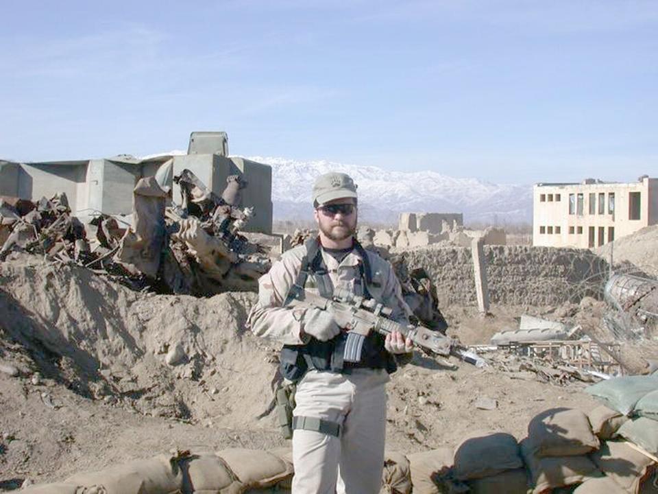 Medal of Honor recipient, USAF Tech. Sgt. John Chapman.