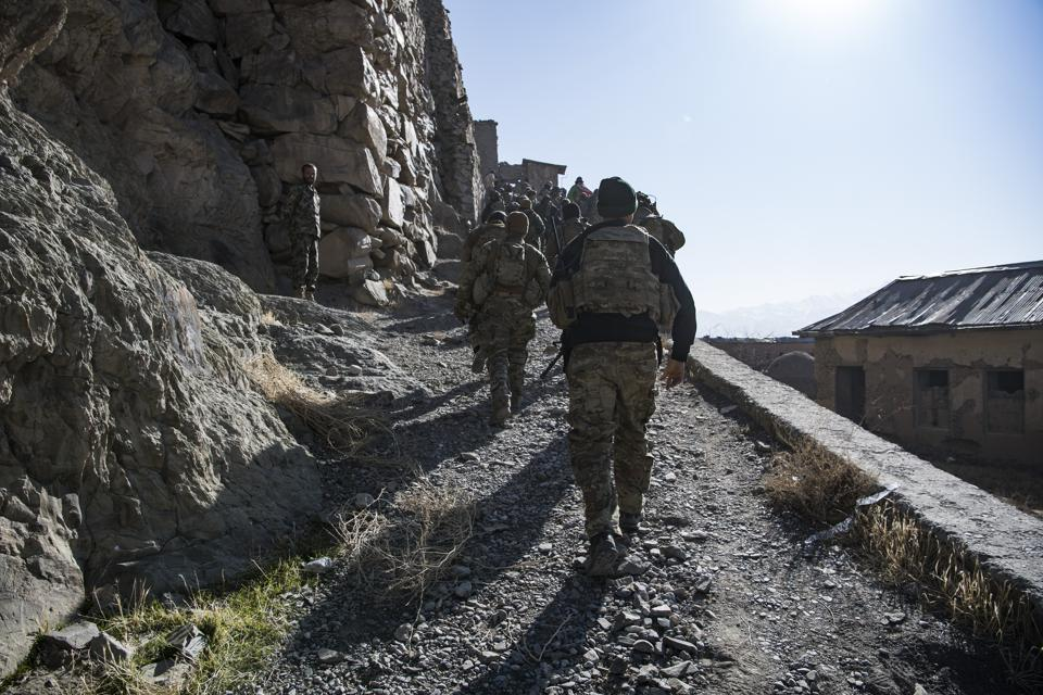 Air Force CCTs go out with Army Green Berets during Operation Resolute Support.