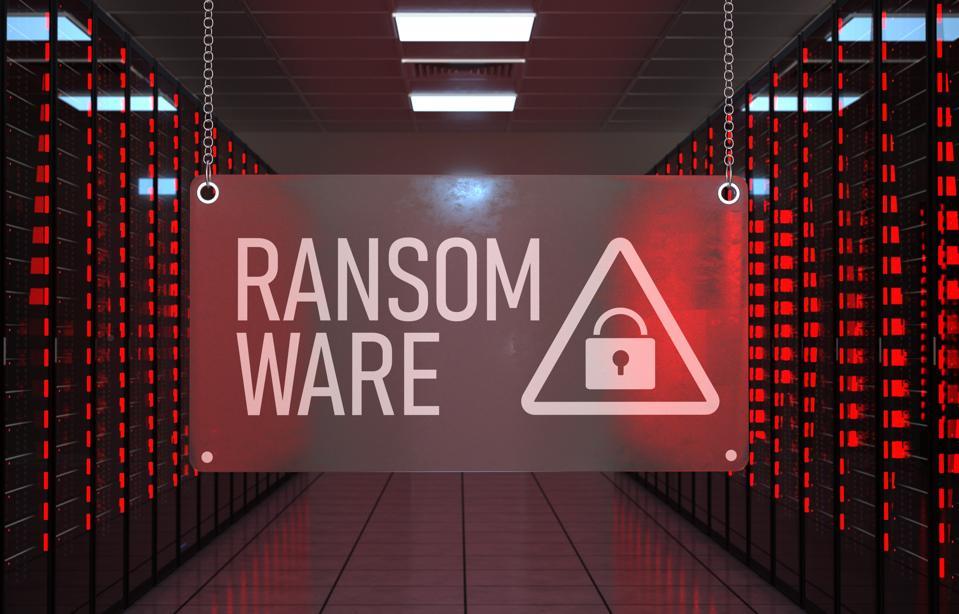 Alert Data Center Ransomware