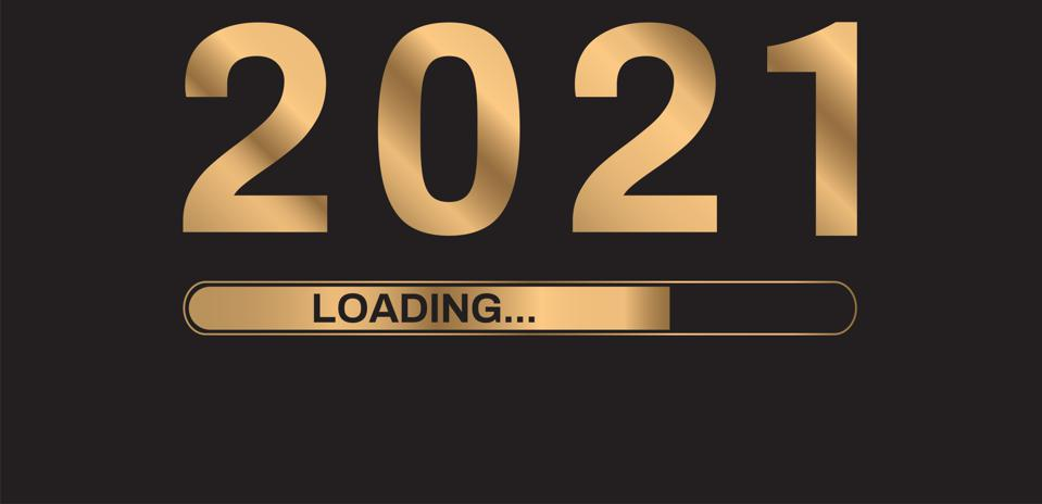 Happy New Year 2021 with Loading bar