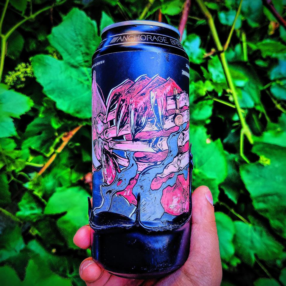 Double Oaked A Deal With The Devil by Anchorage Brewing Company