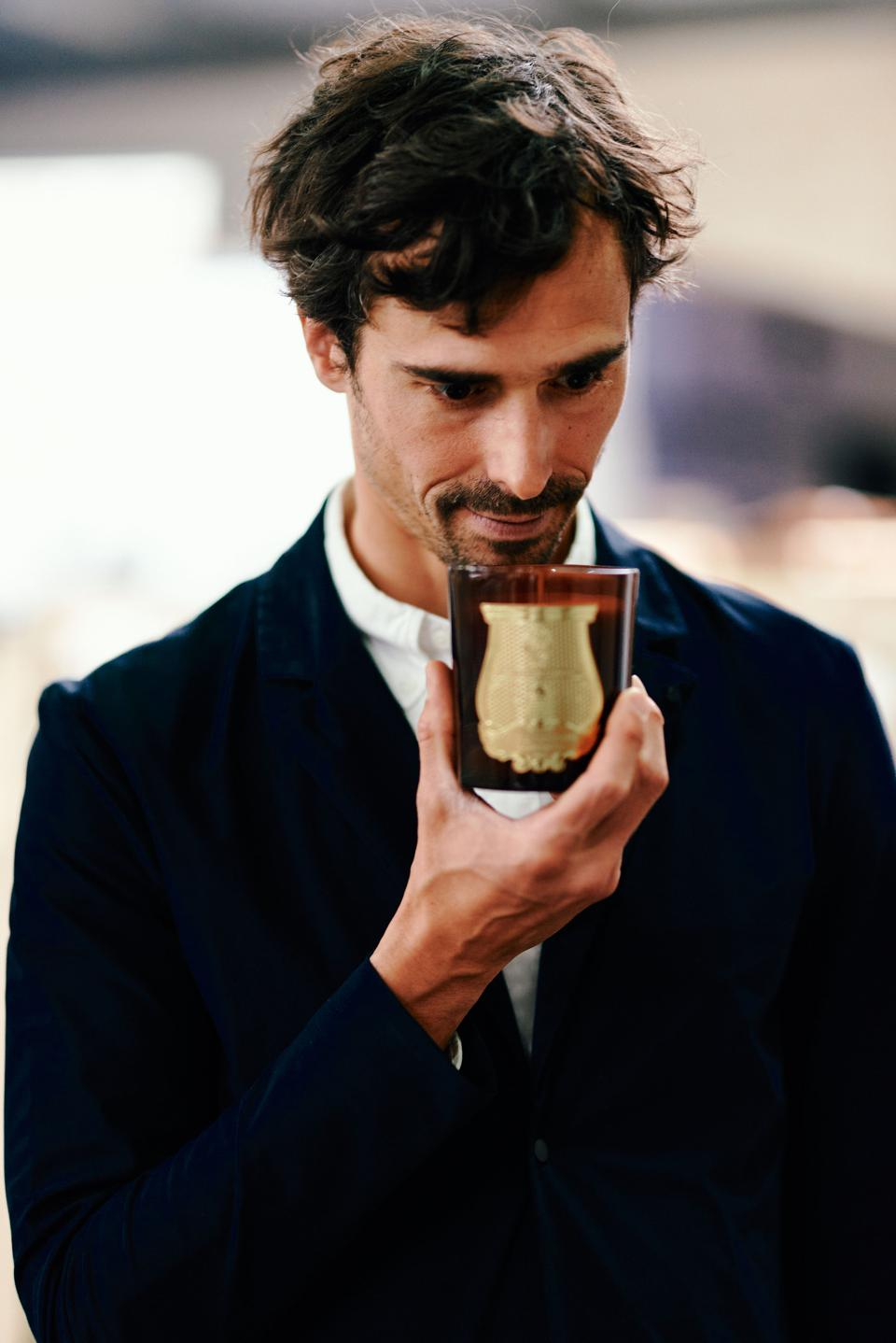 Julien Pruvost, Creative Director of Trudon and Carrieres Freres