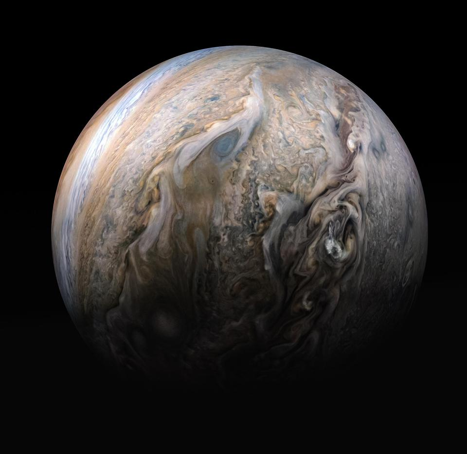 NASA scientists made a bunch of new discoveries in 2020 using data from its Juno spacecraft at Jupiter.
