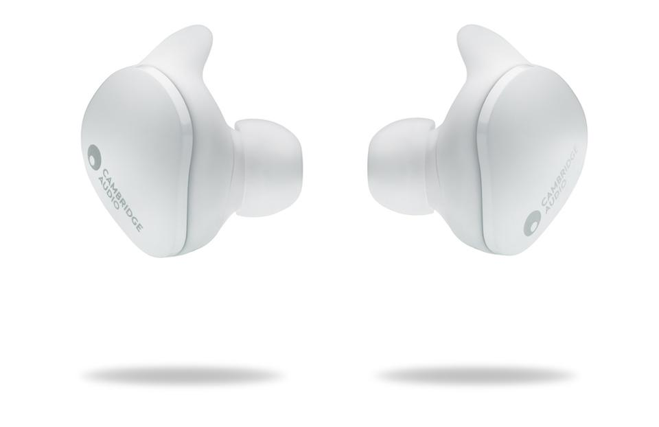 White Melomania Touch earbuds