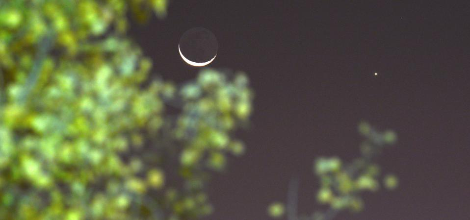 Conjunction Of Venus And The Moon