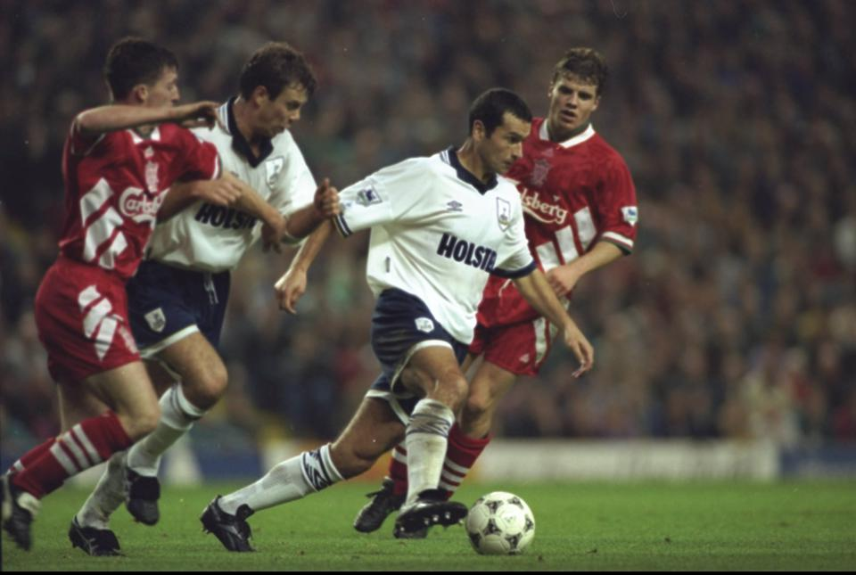 Colin Calderwood of Tottenham Hotspur