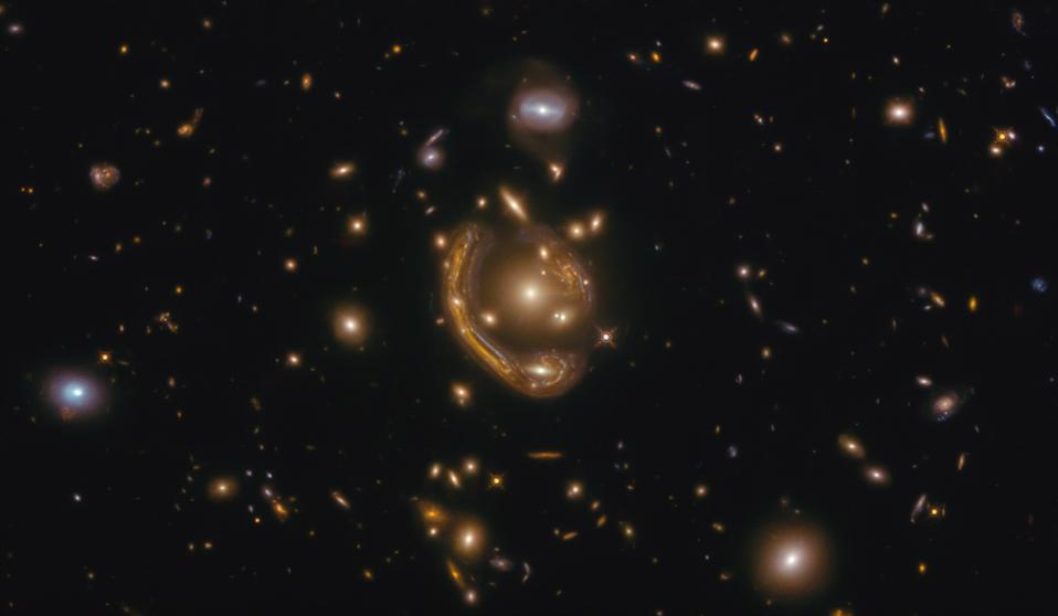 GAL-CLUS-022058s is one of the largest and most complete Einstein rings ever discovered.