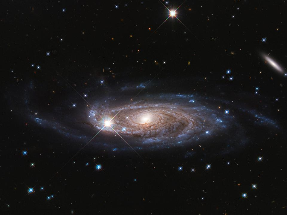 UGC 2885 is the largest spiral galaxy ever discovered: 800,000 light-years in diameter.
