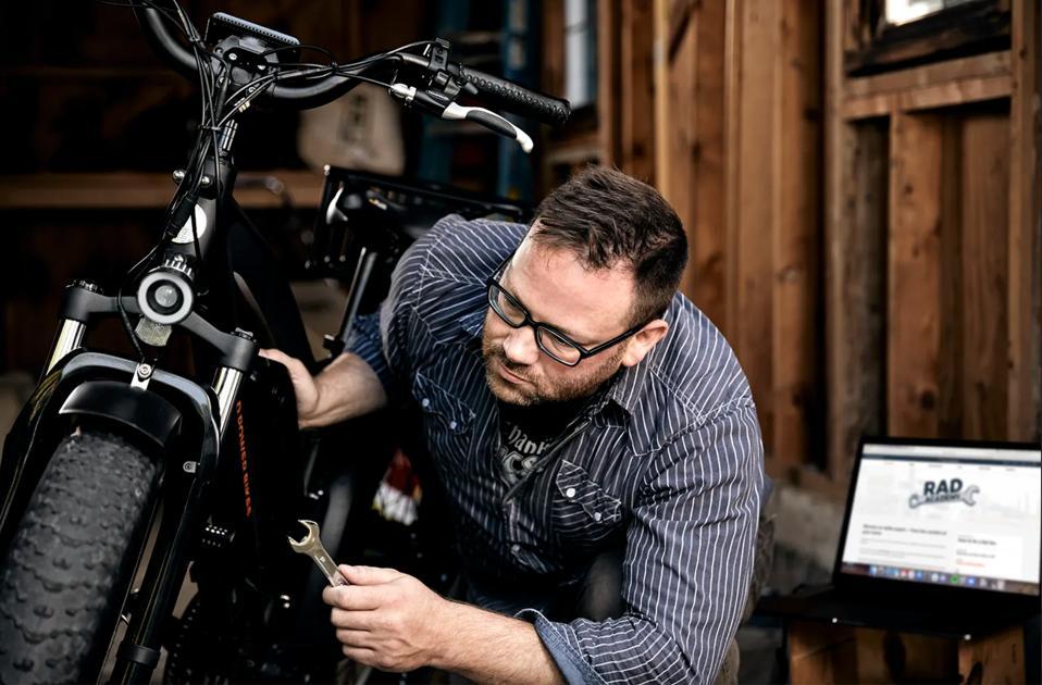 Rad Power Bikes technician