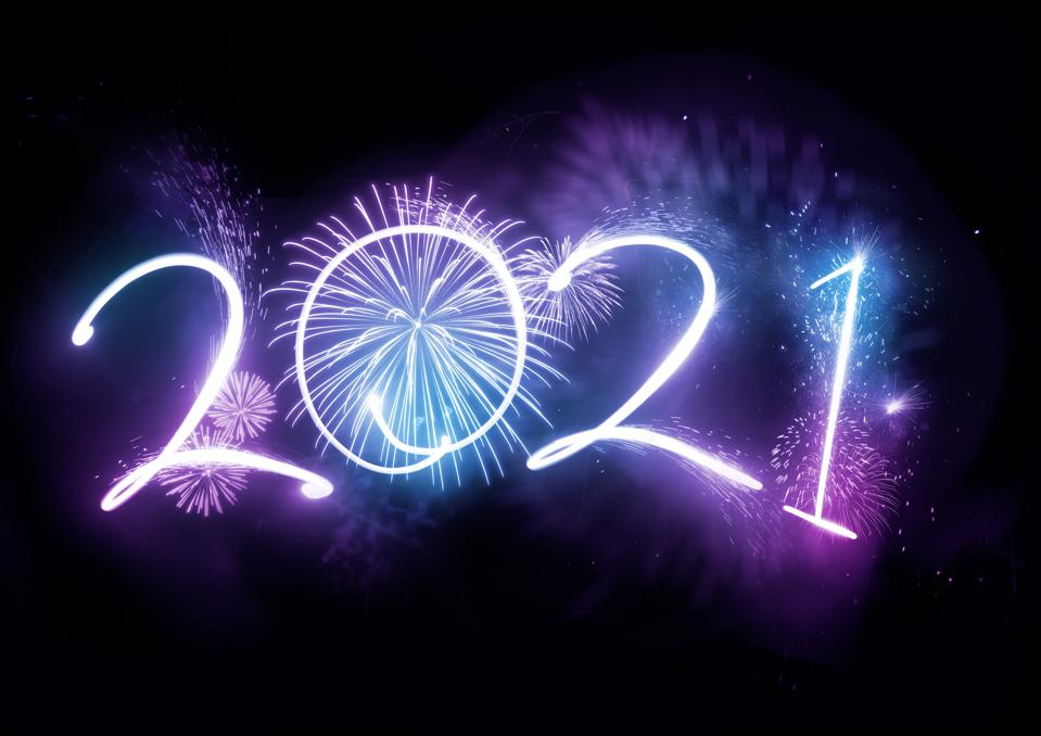 2021 New Year Fireworks Display Concept