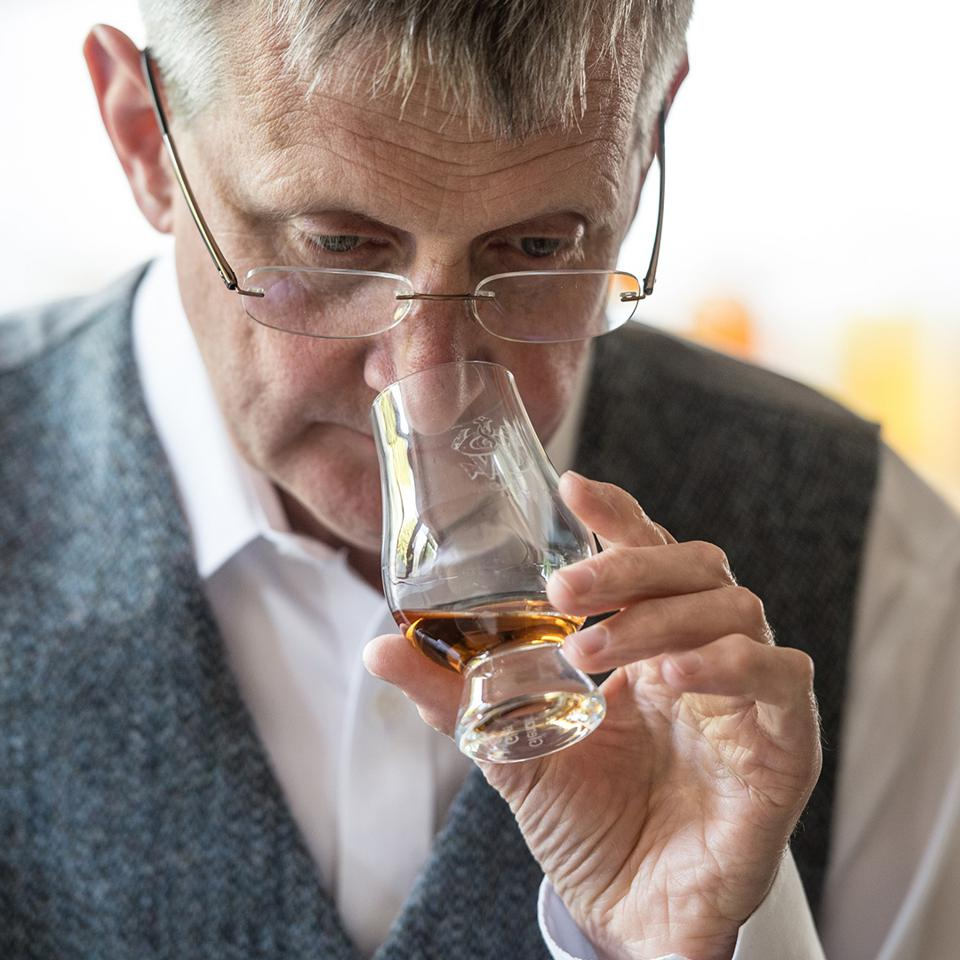 Jim Beveridge wasn't always top dog at Scotland's most legendary whisky distillery; he worked his way to the top and now has a dedicated and talented team at his side.