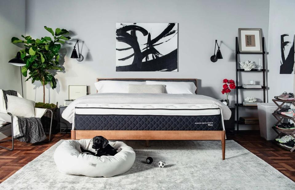 A snapshot of Nest Bedding mattress.
