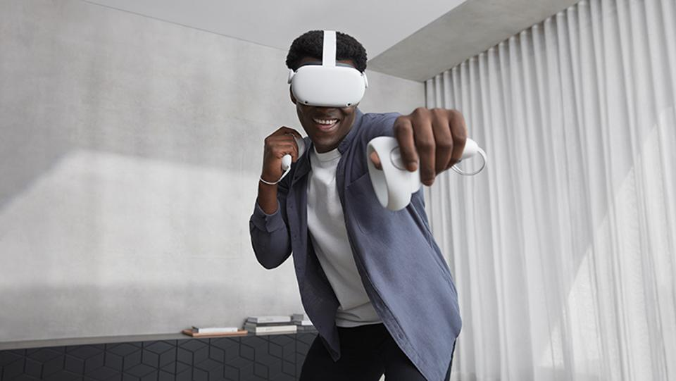 Oculus Quest 2, the next generation of all-in-one, wireless VR - introduced September 2020.