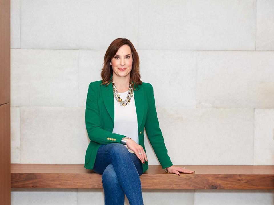 The founder and CEO of REALM, Julie Faupel