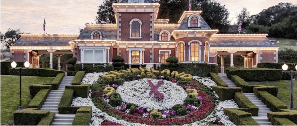 Neverland, Michael Jackson, Ron Burkle, Neverland Ranch sells