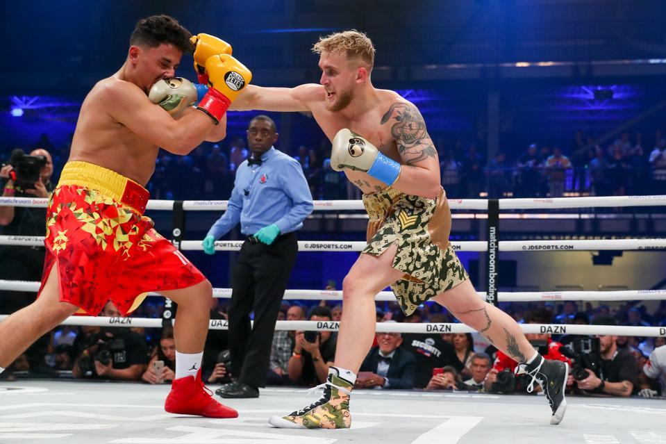 Jake Paul boxing purses