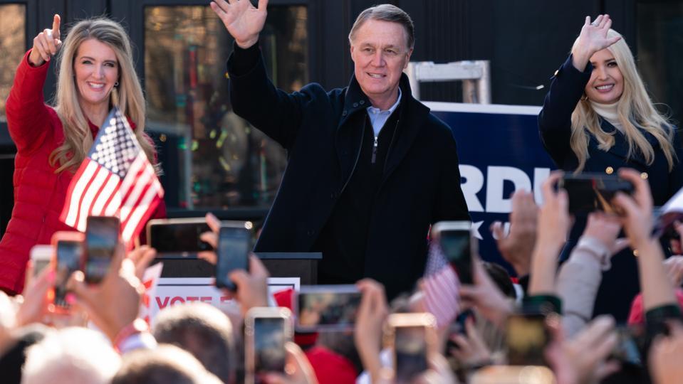 Ivanka Trump Campaigns For GOP Candidates Sen. Perdue and Sen. Loeffler In Georgia