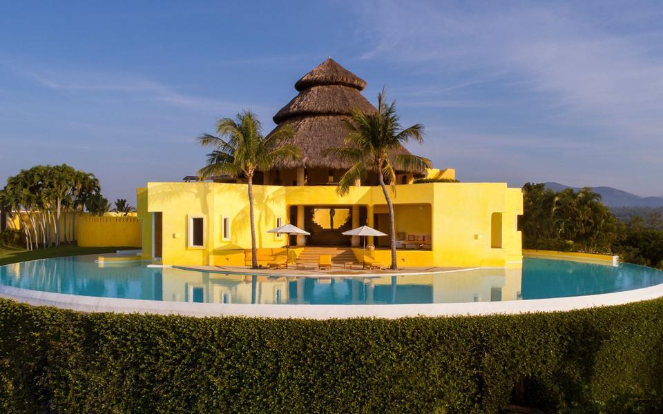 A villa-style home in Mexico.