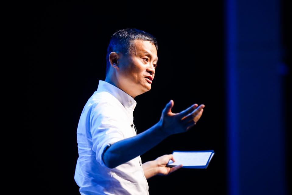 Chairman of Alibaba Goup Jack Ma