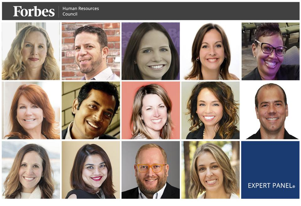 Photos of featured Forbes Human Resources Council members