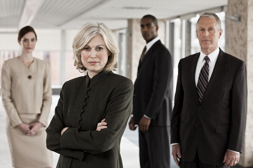 Businesspeople in office not prepared for inclusion
