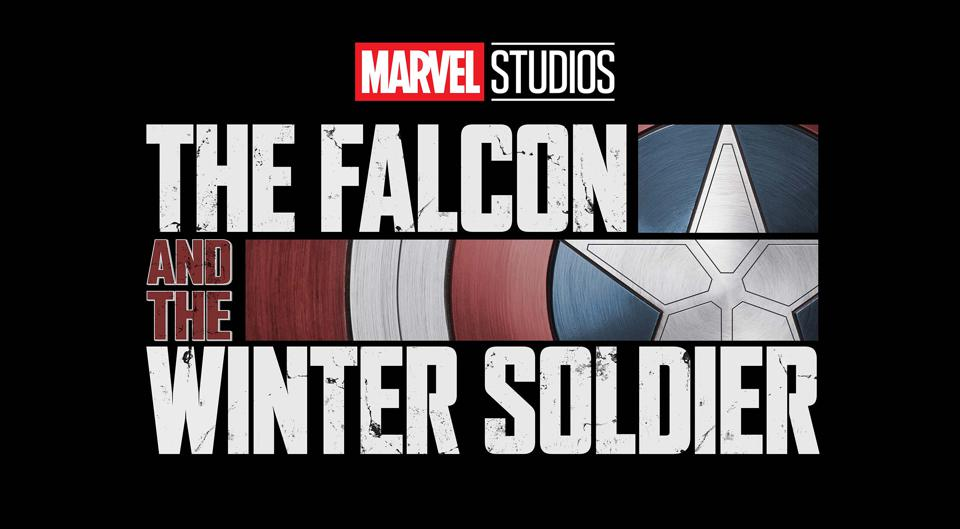 The Falcon and The Winter Soldier on a black background.