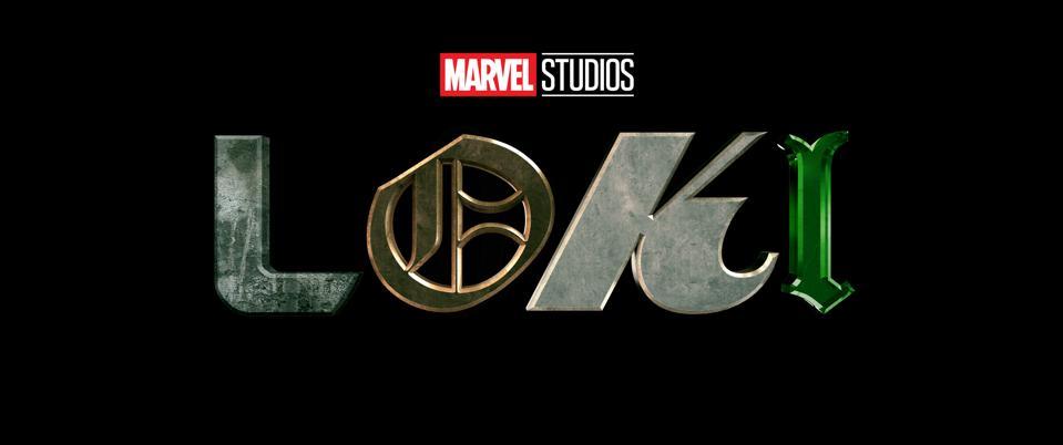 Loki on a black background.