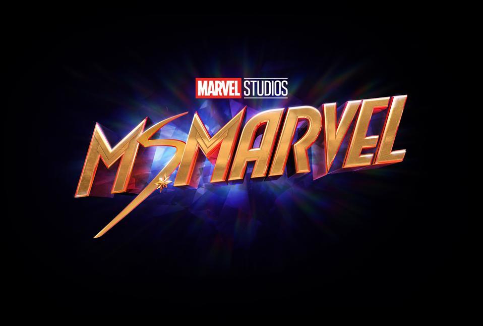 Ms. Marvel on a black background.