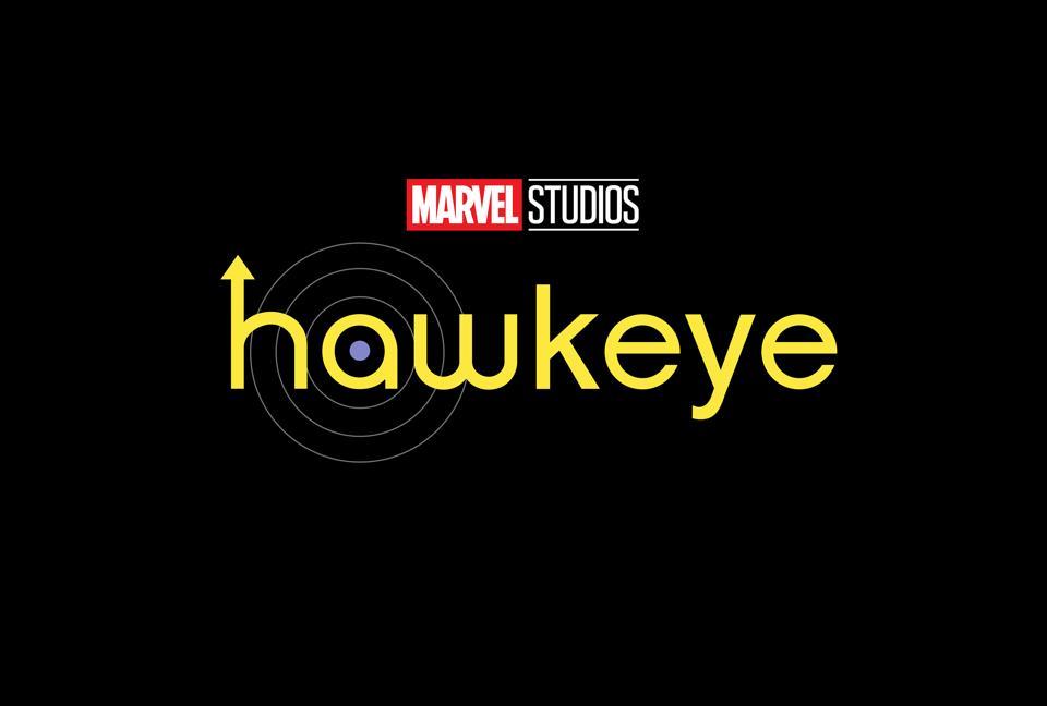 Hawkeye on a black background.