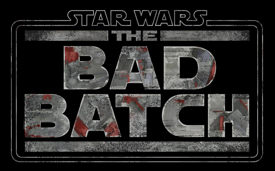 Star Wars: The Bad Batch on a black background.