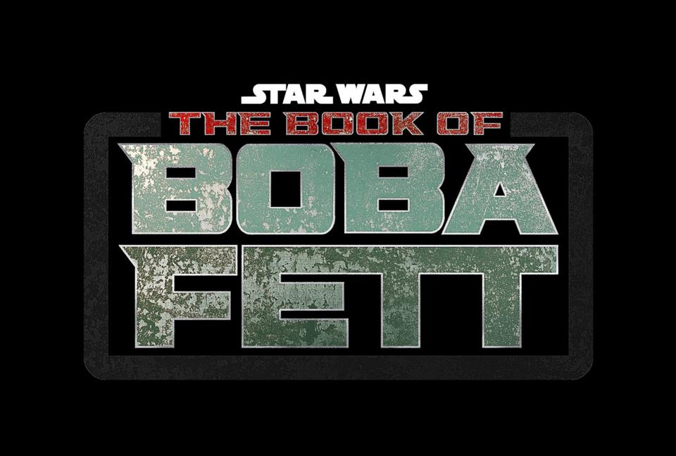 Star Wars: The Book of Boba Fett on a black background.