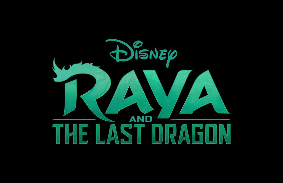 Raya and the Last Dragon on a black background.