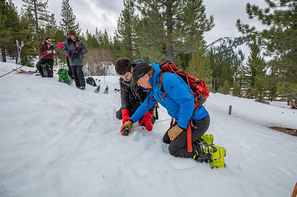 Alpenglow Expeditions' AIARE 1 Avalanche Course provides introductory avalanche education