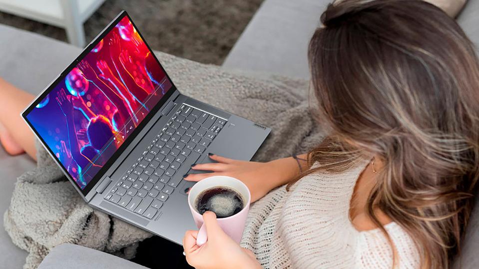 Lenovo Yoga 7i 14-Inch 2-In-1 Convertible Laptop