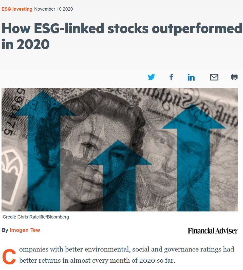 ESG in 2020