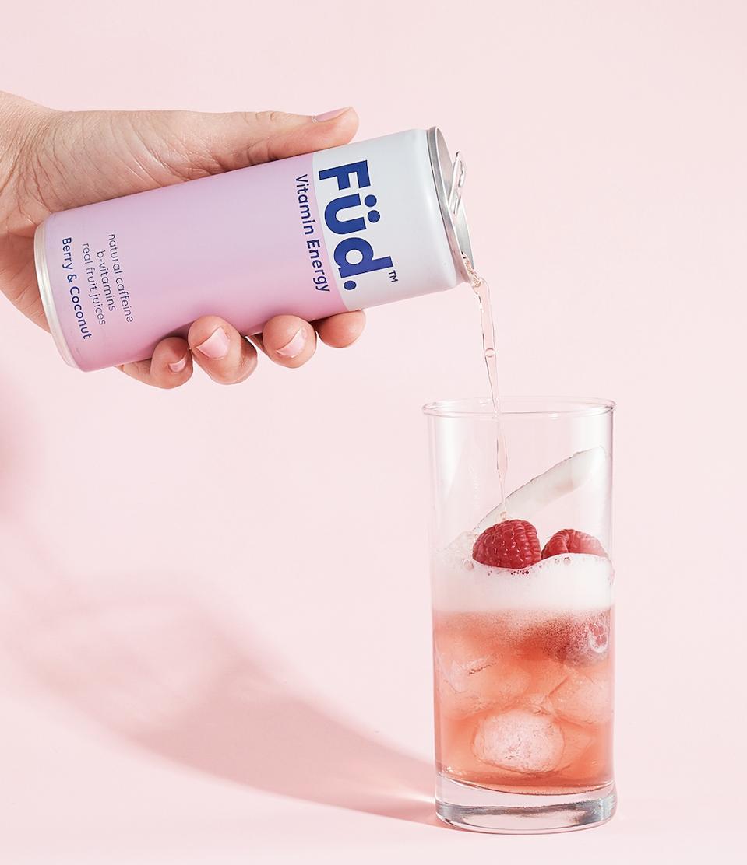 Füd Vitamin Energy Berry & Coconut Flavor
