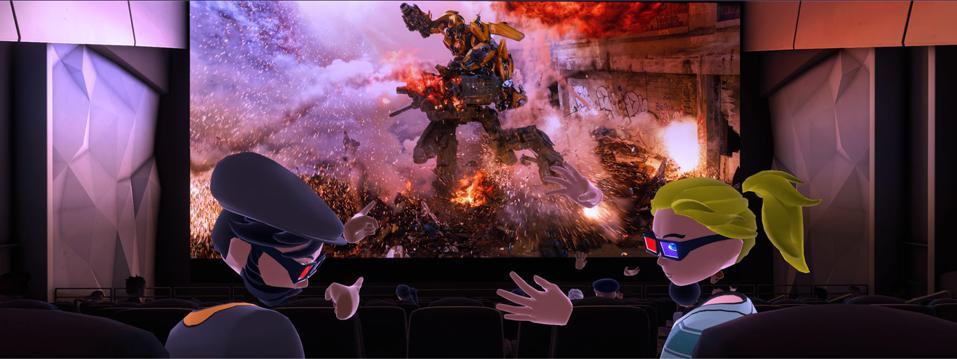Shared avatars in Bigscreen VR