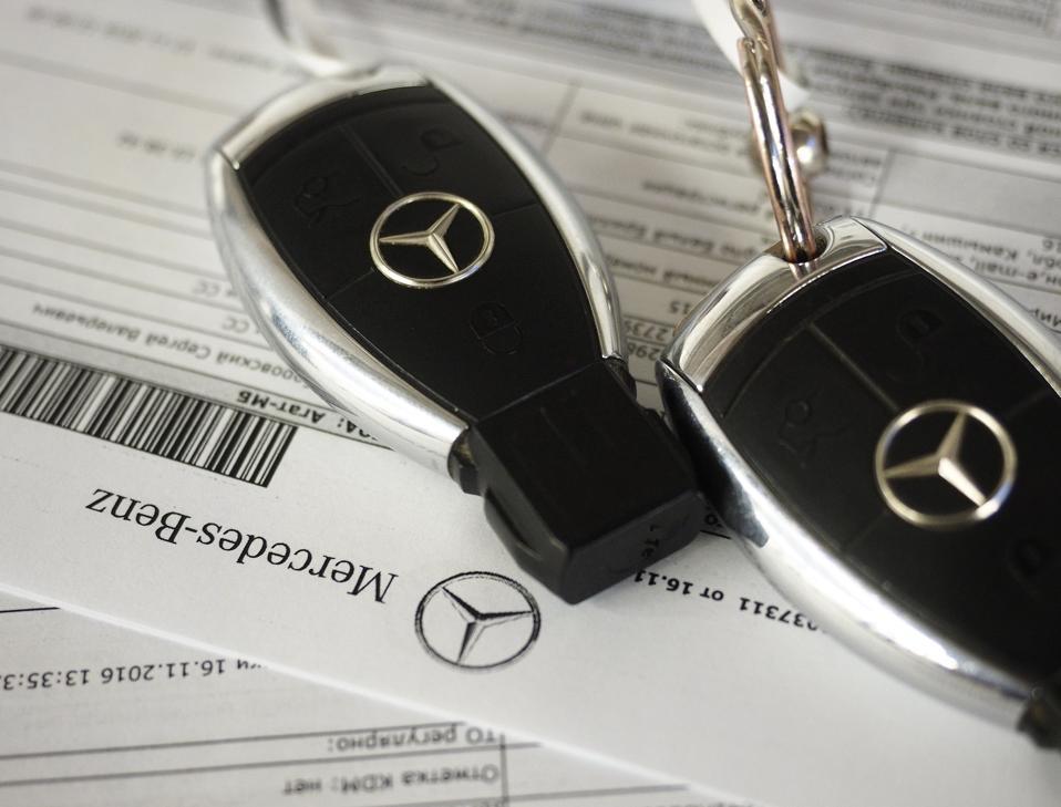 Mercedes-Benz car dealership